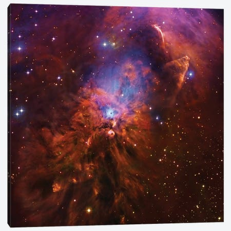 Emission & Reflection Nebula In Orion (NGC 1999) II Canvas Print #GEN21} by Robert Gendler Canvas Art Print