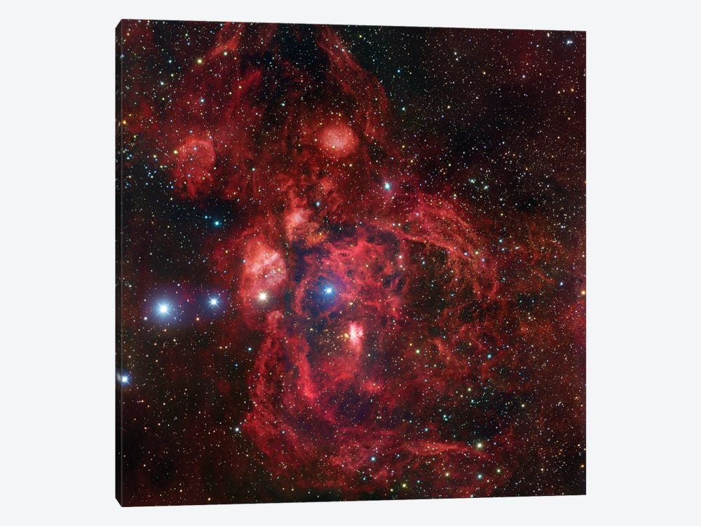 Emission Complex In Scorpius (NGC 6357) by Robert Gendler 1-piece Canvas Wall Art