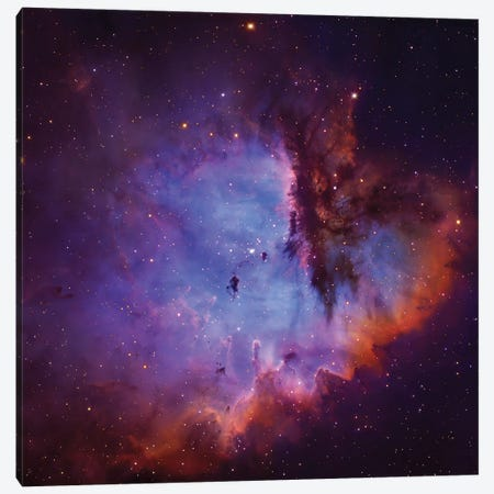 Emission Nebula and Open Cluster in Cassiopeia (NGC 281) Canvas Print #GEN23} by Robert Gendler Canvas Art Print
