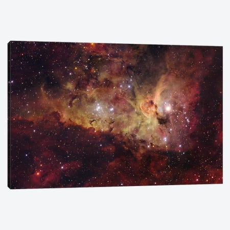 Eta Carinae Mosaic Canvas Print #GEN26} by Robert Gendler Canvas Art