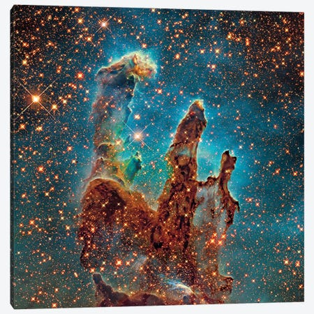 M16, The Eagle Nebula (NGC 6611) II Canvas Print #GEN41} by Robert Gendler Canvas Art Print