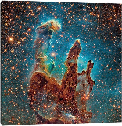 M16, The Eagle Nebula (NGC 6611) II Canvas Art Print
