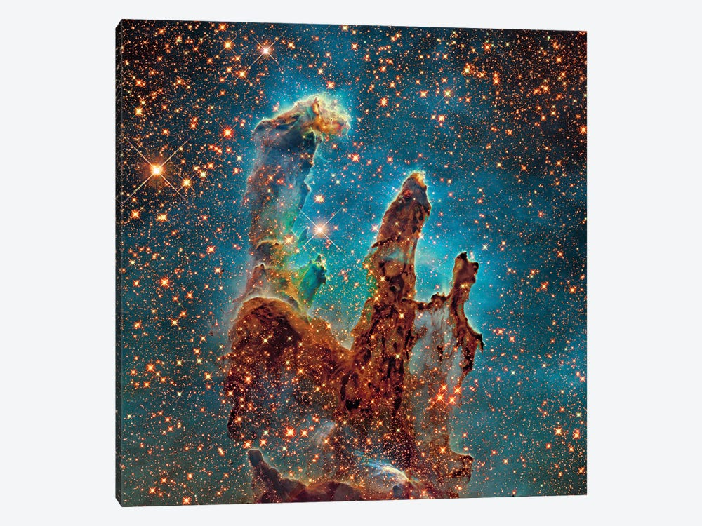 M16, The Eagle Nebula (NGC 6611) II by Robert Gendler 1-piece Canvas Print