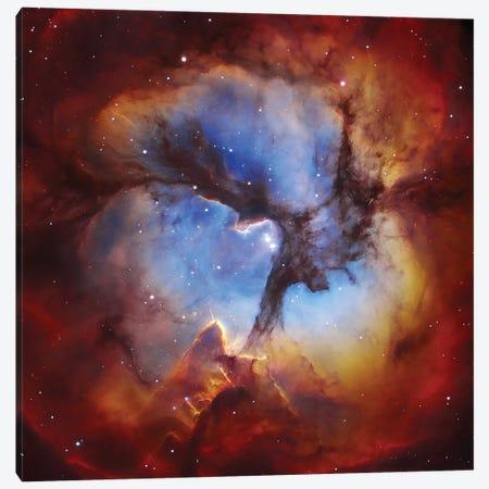 M20, Trifid Nebula II Canvas Print #GEN44} by Robert Gendler Canvas Wall Art