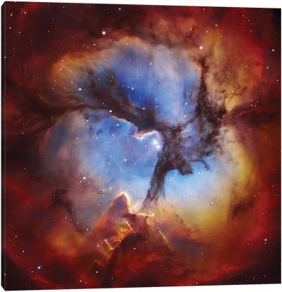 M20, Trifid Nebula II Canvas Art Print