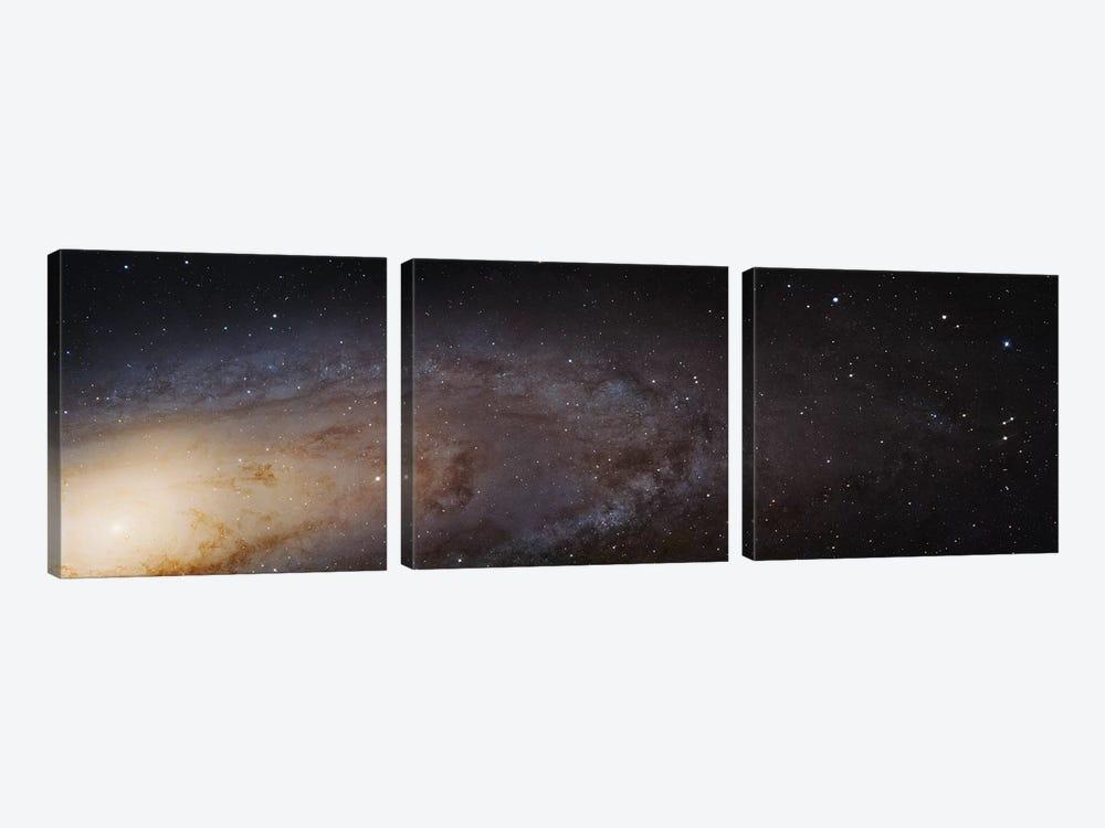 M31, Andromeda Galaxy (PHAT) Mosaic I by Robert Gendler 3-piece Canvas Art