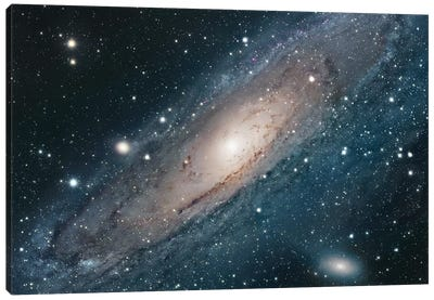 M31, Andromeda Galaxy I Canvas Art Print