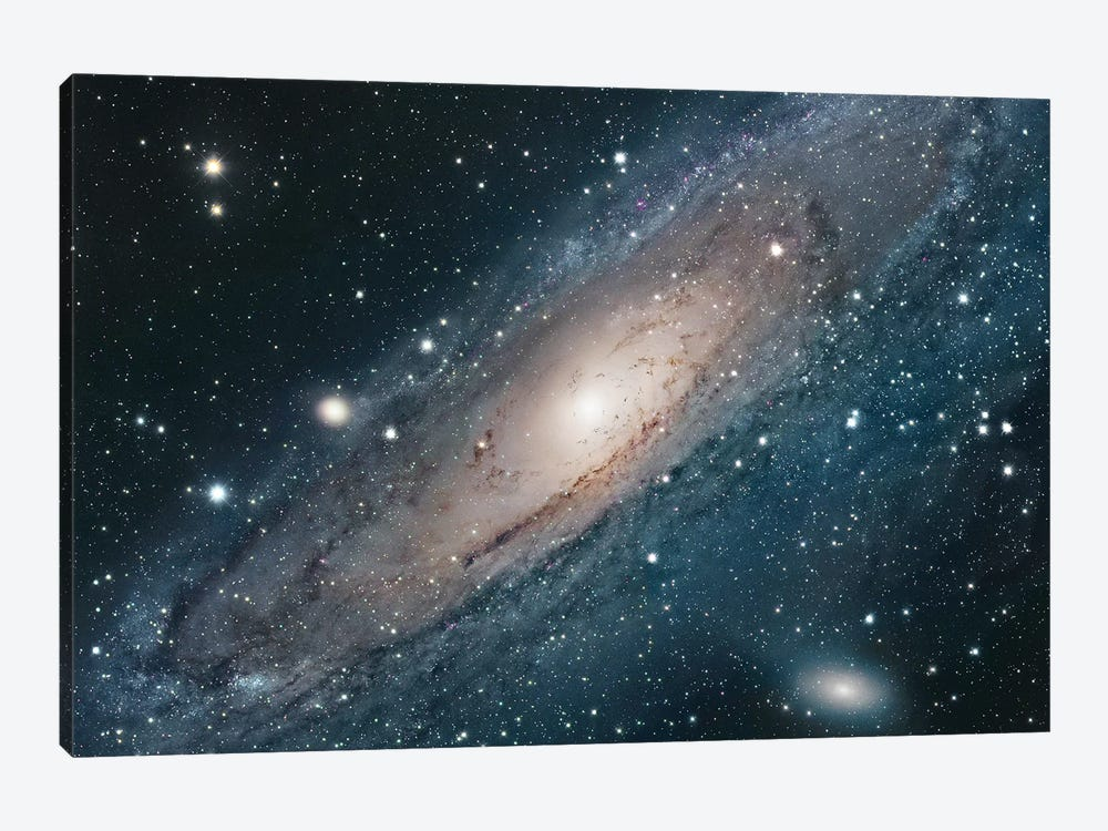 M31, Andromeda Galaxy I by Robert Gendler 1-piece Canvas Artwork