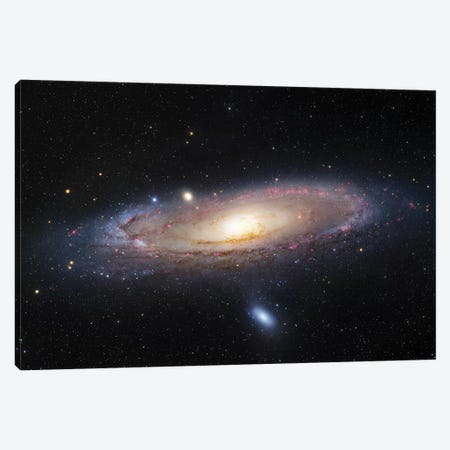 M31, Andromeda Galaxy III Canvas Print #GEN50} by Robert Gendler Canvas Wall Art