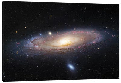 M31, Andromeda Galaxy III Canvas Art Print