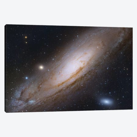 M31, Andromeda Galaxy IV Canvas Print #GEN51} by Robert Gendler Canvas Artwork