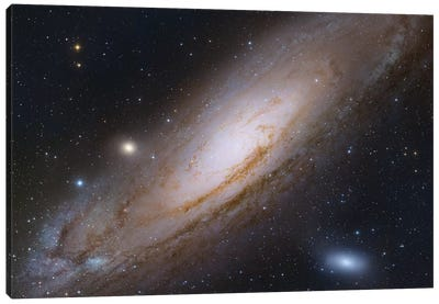 M31, Andromeda Galaxy IV Canvas Art Print