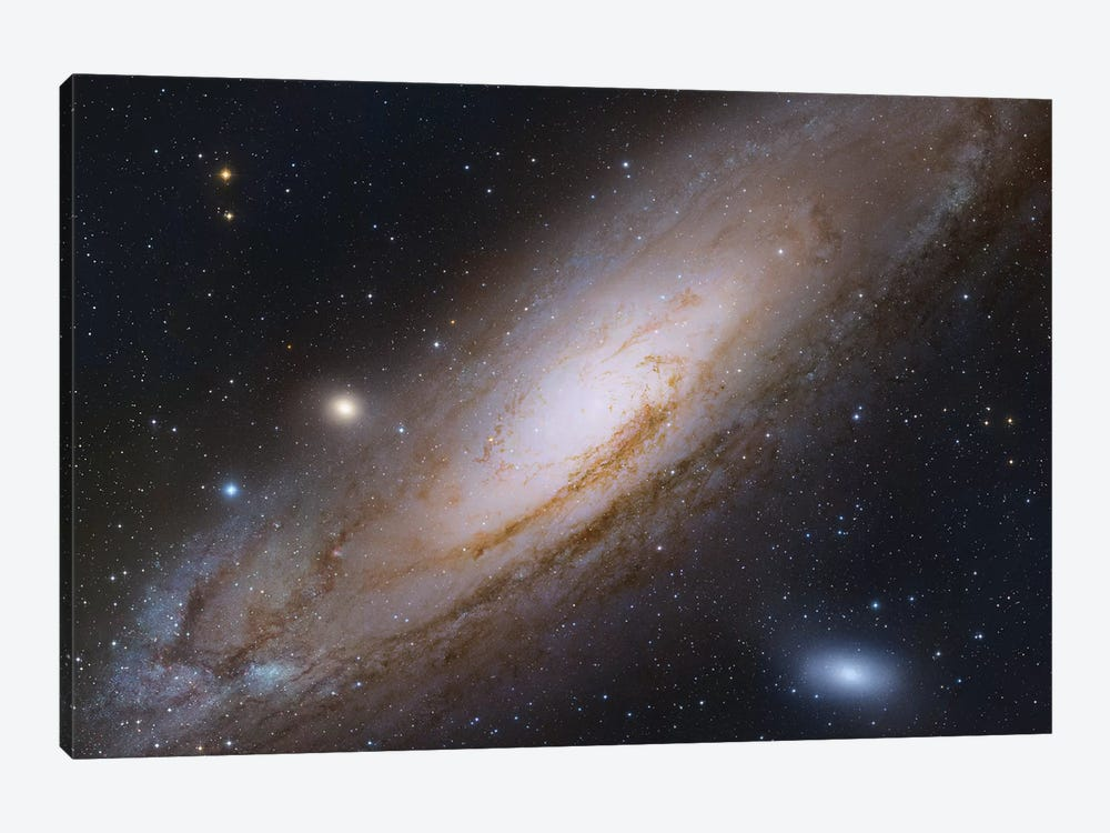 M31, Andromeda Galaxy IV by Robert Gendler 1-piece Canvas Art