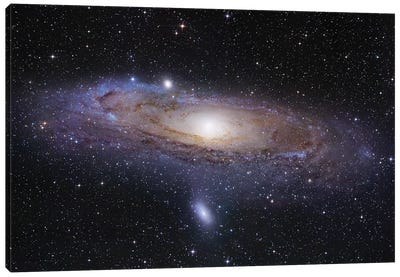 M31, Andromeda Galaxy Mosaic I Canvas Art Print