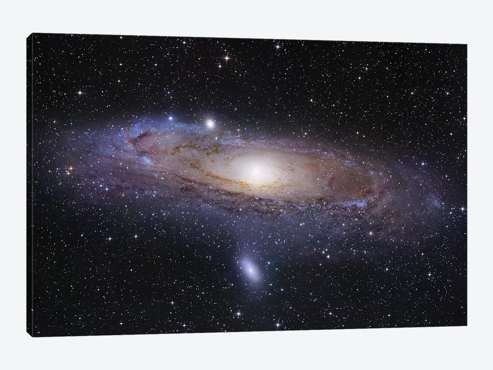 M31, Andromeda Galaxy Mosaic I by Robert Gendler 1-piece Art Print
