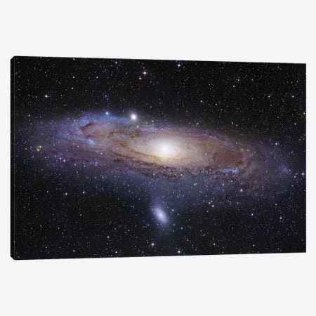 M31, Andromeda Galaxy Mosaic I Canvas Print #GEN52} by Robert Gendler Canvas Art