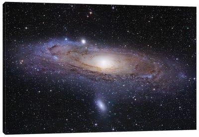 M31, Andromeda Galaxy Mosaic I Canvas Art Print