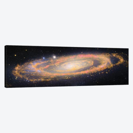 M31, Andromeda Galaxy V Canvas Print #GEN54} by Robert Gendler Art Print