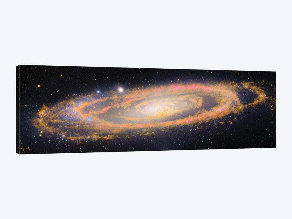 M31, Andromeda Galaxy V by Robert Gendler 1-piece Canvas Print