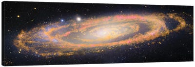 M31, Andromeda Galaxy V Canvas Art Print