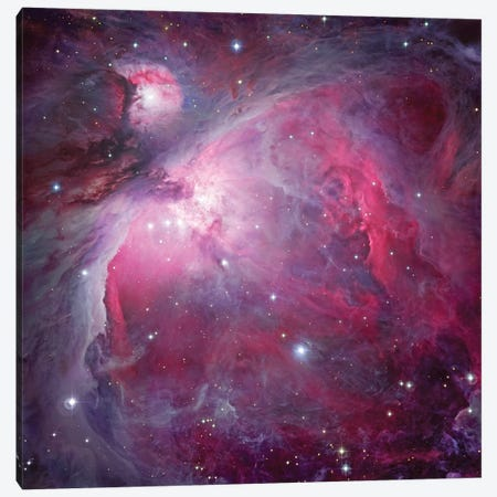 M42, The Great Nebula In Orion Canvas Print #GEN57} by Robert Gendler Art Print