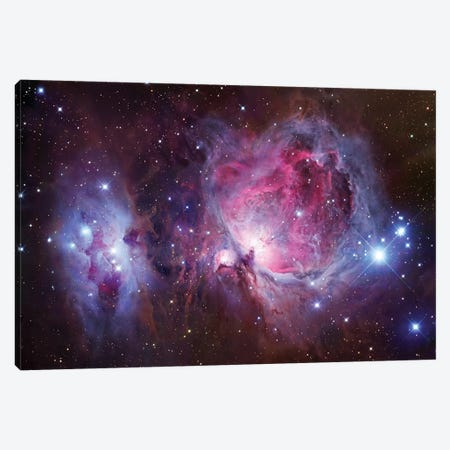 M42, The Great Nebula In Orion Mosaic Canvas Print #GEN58} by Robert Gendler Canvas Wall Art