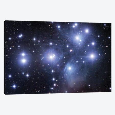 M45, The Pleiades (Seven Sisters) Canvas Print #GEN59} by Robert Gendler Canvas Artwork