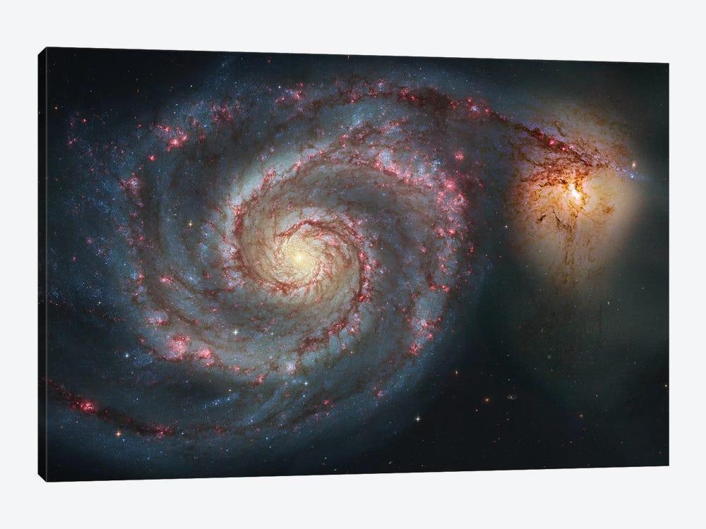 M51, The Whirlpool Galaxy I by Robert Gendler 1-piece Canvas Art Print