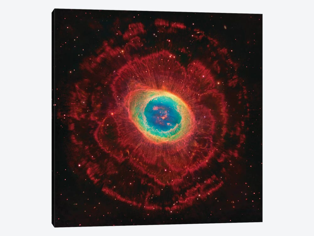 M57, The Ring Nebula (NGC 6720) by Robert Gendler 1-piece Canvas Art Print