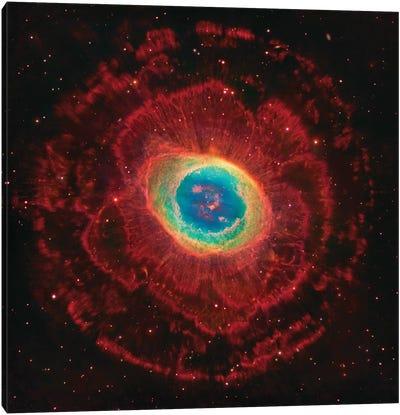 M57, The Ring Nebula (NGC 6720) Canvas Art Print