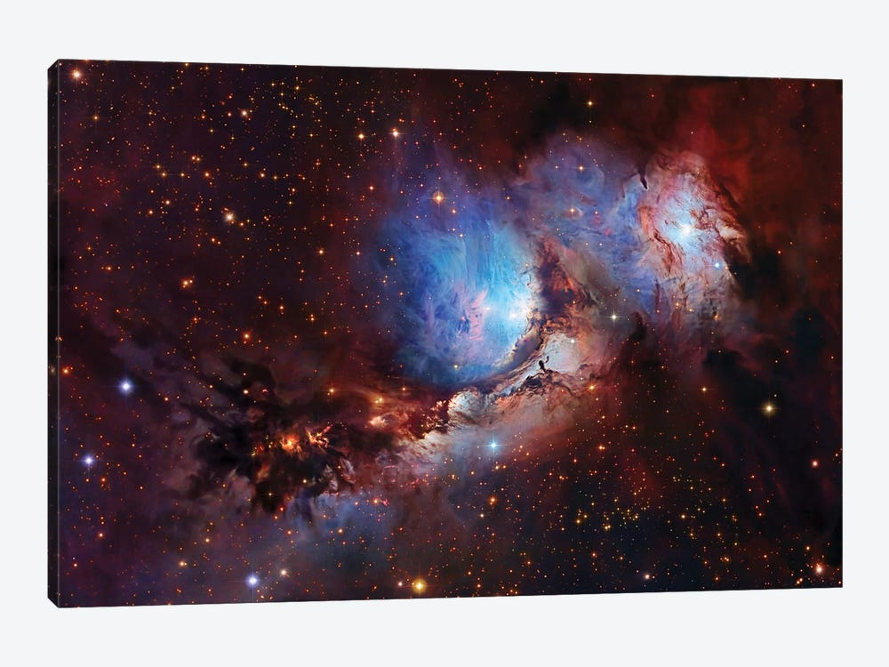 M78, Nebula Complex In Orion 1-piece Canvas Wall Art