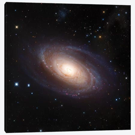M81, Spiral Galaxy In Ursa Major II Canvas Print #GEN66} by Robert Gendler Canvas Artwork