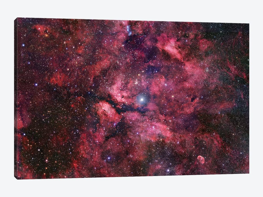 Nebulosity Surrounding Gamma Cygni by Robert Gendler 1-piece Canvas Art Print
