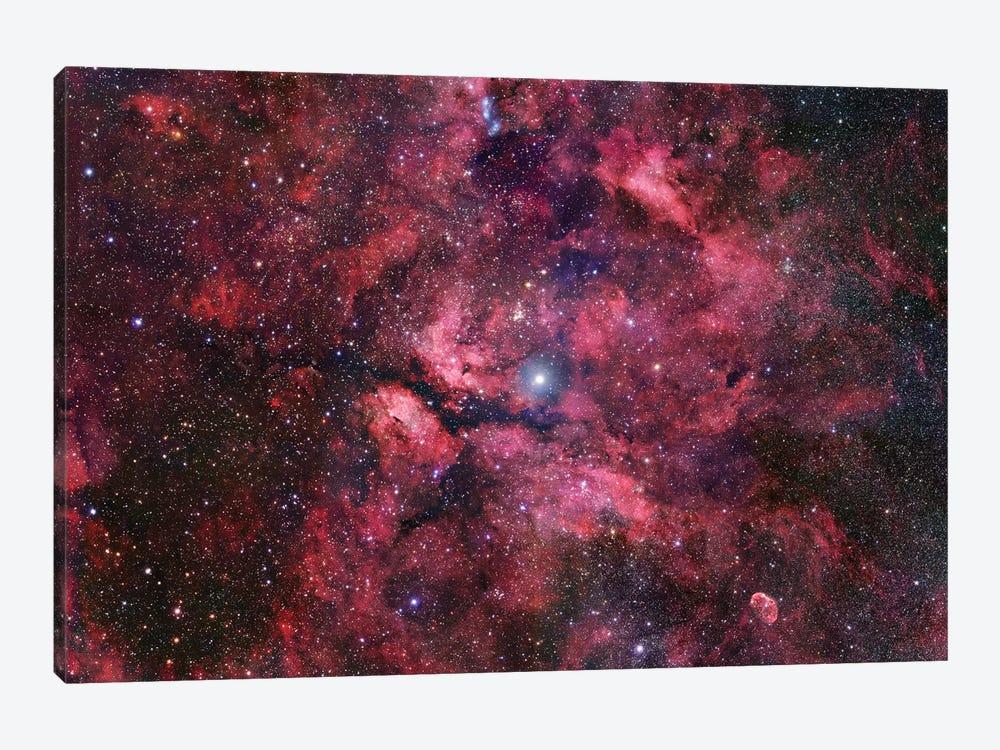 Nebulosity Surrounding Gamma Cygni by Robert Gendler 1-piece Canvas Art Print