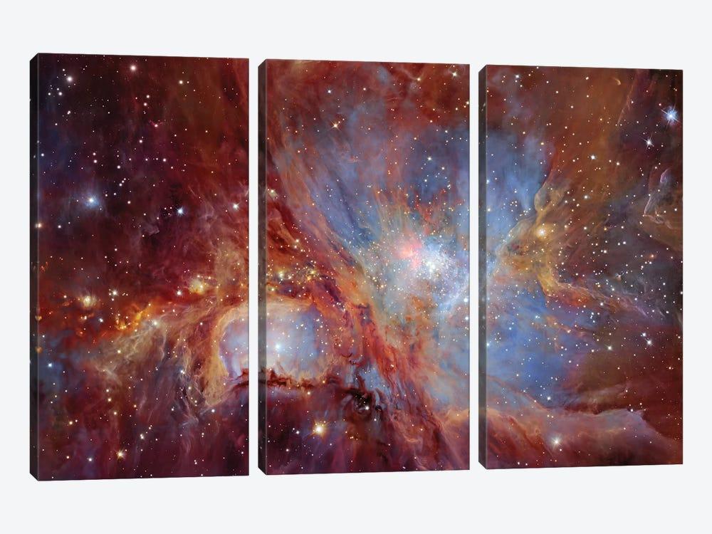 Orion Nebula  by Robert Gendler 3-piece Canvas Print