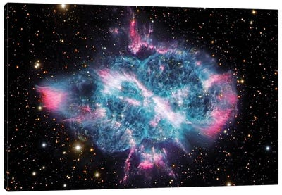 Planetary Nebula In Musca (NGC 5189) Canvas Art Print