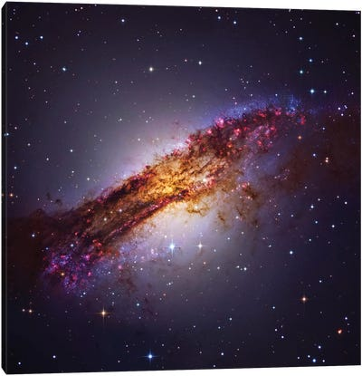 "Centaurus ""A"" (NGC 5128) Canvas Art Print"