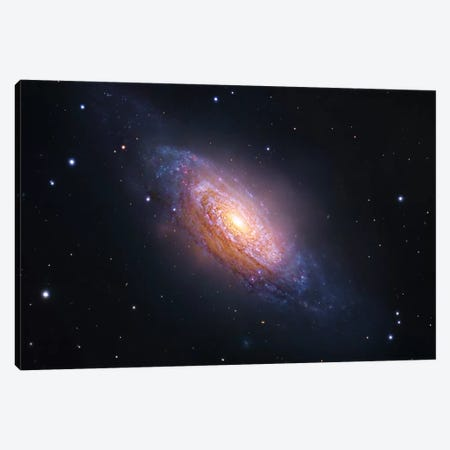 Spiral Galaxy In Leo (NGC 3521) Canvas Print #GEN91} by Robert Gendler Canvas Wall Art