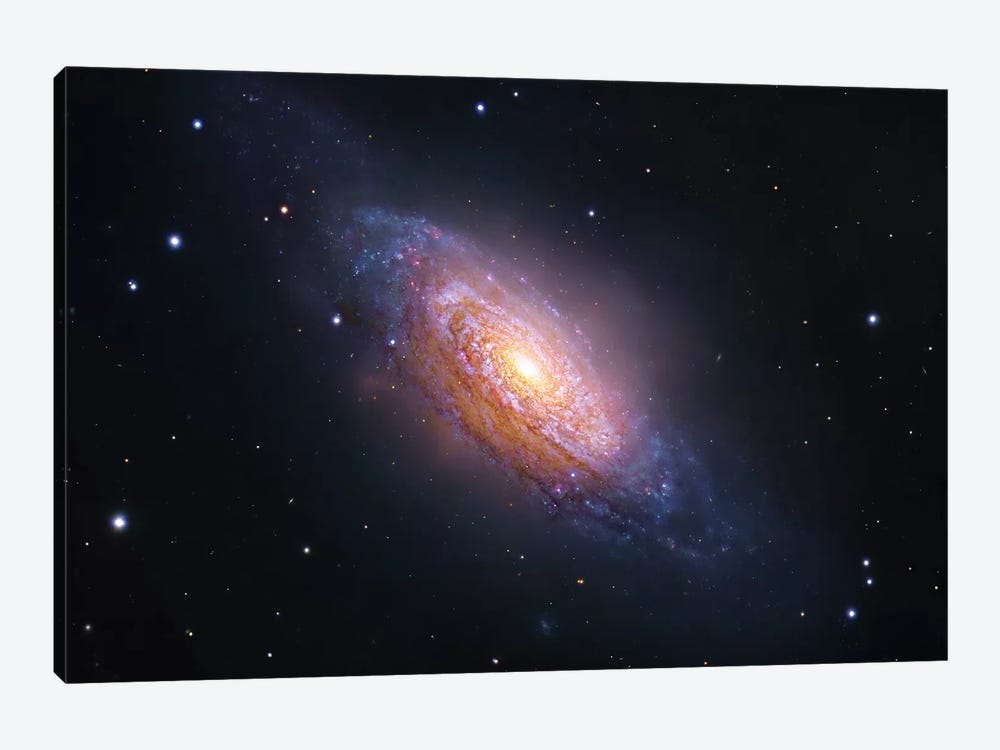 Spiral Galaxy In Leo (NGC 3521) by Robert Gendler 1-piece Canvas Wall Art