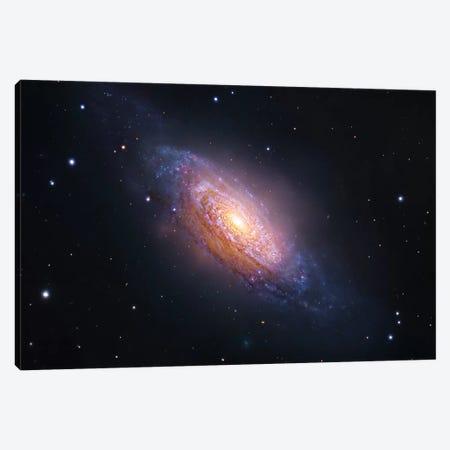 Spiral Galaxy In Leo (NGC 3521) Canvas Print #GEN91} by Robert Gendler Canvas Wall Art