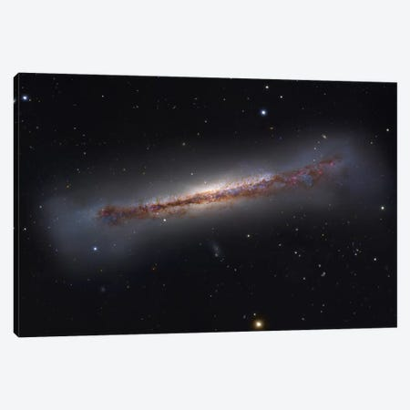 Spiral Galaxy In Leo Constellation (NGC 3628) Canvas Print #GEN92} by Robert Gendler Canvas Wall Art