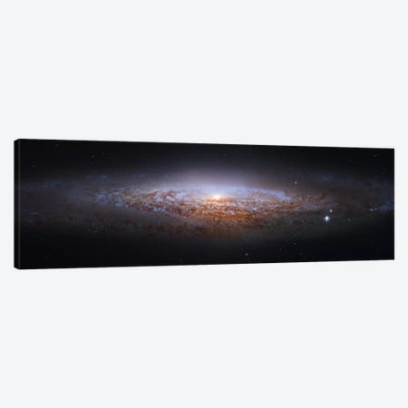 Spiral Galaxy In Lynx, Mosaic From Hubble Legacy Archive (NGC 2683) I Canvas Print #GEN93} by Robert Gendler Canvas Wall Art
