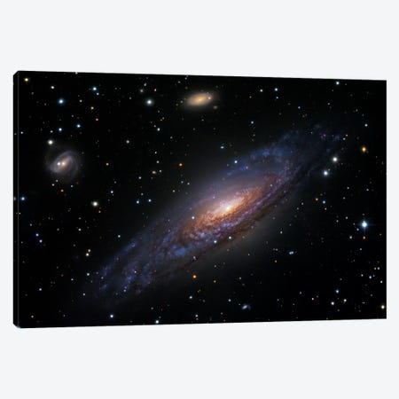 Spiral Galaxy In Pegasus (NGC 7331) II Canvas Print #GEN96} by Robert Gendler Canvas Print