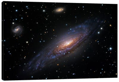 Spiral Galaxy In Pegasus (NGC 7331) II Canvas Art Print