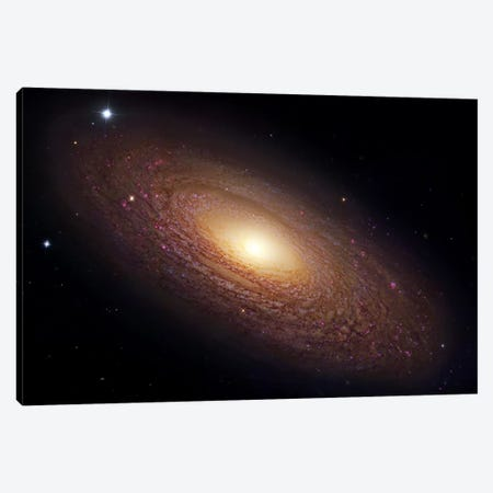 Spiral Galaxy In Ursa Major (NGC 2841) Canvas Print #GEN98} by Robert Gendler Canvas Wall Art
