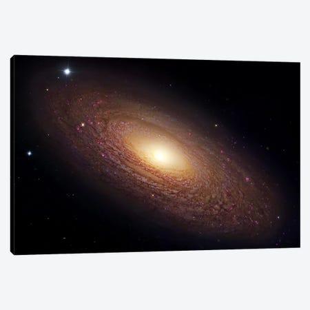Spiral Galaxy In Ursa Major (NGC 2841) Canvas Print #GEN98} by Robert Gendler Canvas Wall Art