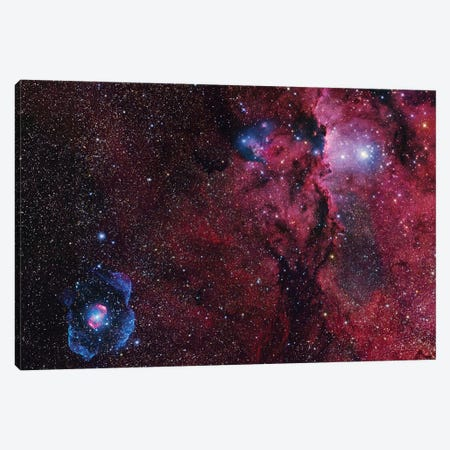 Star Forming Region In Ara (NGC 6188) I Canvas Print #GEN99} by Robert Gendler Canvas Artwork