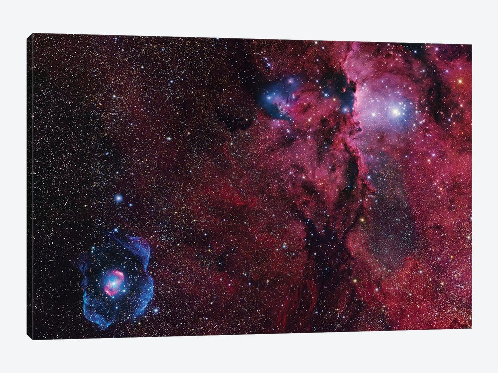 Star Forming Region In Ara (NGC 6188) I by Robert Gendler 1-piece Canvas Wall Art