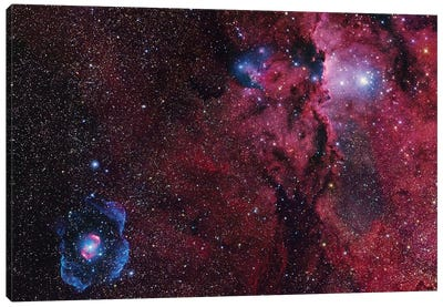 Star Forming Region In Ara (NGC 6188) I Canvas Art Print