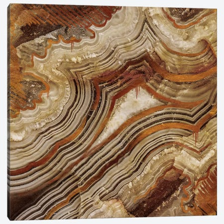 Burnished Copper Canvas Print #GEO2} by 5by5collective Canvas Art